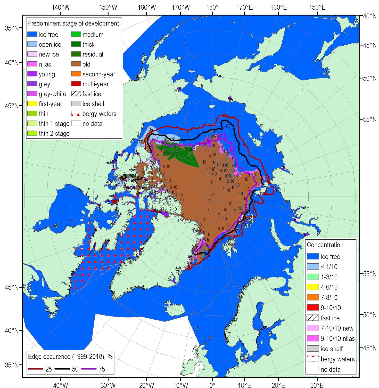 sea ice summary september